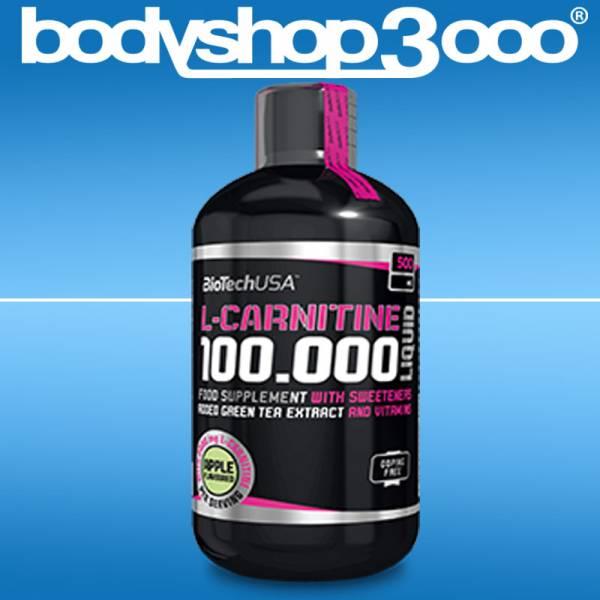 Biotech USA L-Carnitine 100.000mg Liquid 500ml