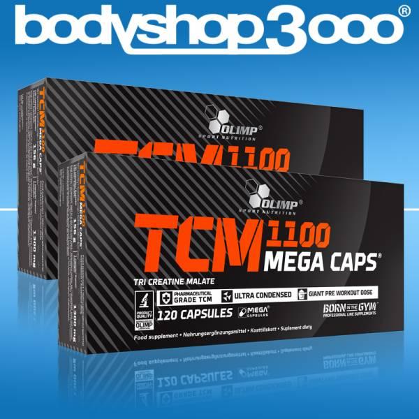 Olimp TCM Tri Creatin Malat 240 Mega Caps Creatin ( 2x120 Caps)