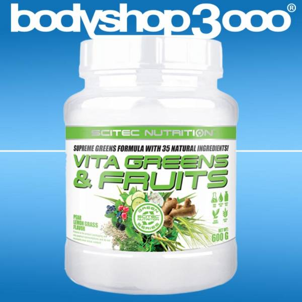 Scitec Nutrition Vita Greens & Fruit 600g