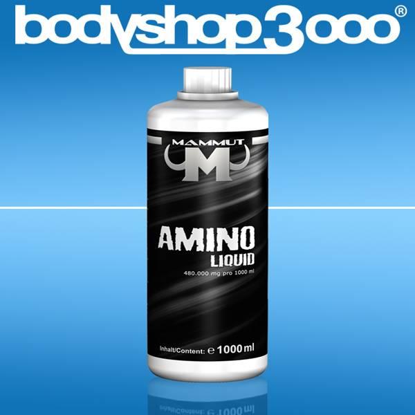 Mammut Amino Liquid Eiweiß Aminosäure BCAA Protein