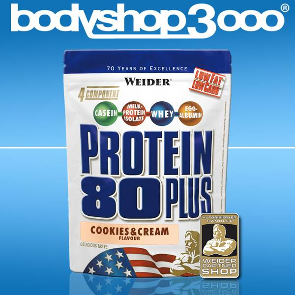 Weider Protein 80 Plus 500g Low Carb Eiweiß