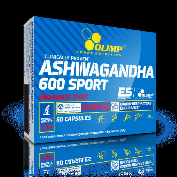 Olimp Ashwagandha 600 Sport - 60 Kapseln KSM-66 - Premium-Qualität