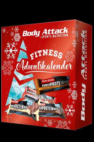 Body Attack Adventskalender 2020 Protein Riege 24 â 35g