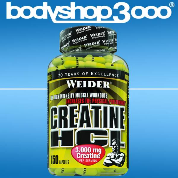 Weider - WEIDER Creatine HCL 104g