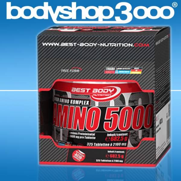 Best Body Nutrition Amino 5000 Aminosäure Tabs BCAA