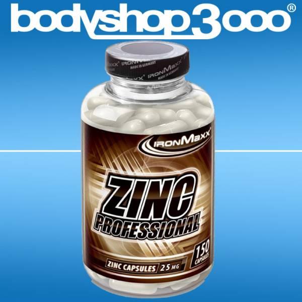Ironmaxx- Zinc Professional (150 Kapseln)