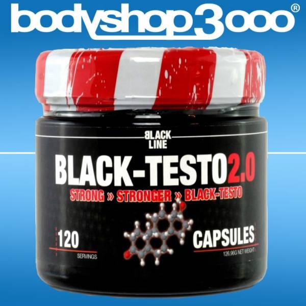 Blackline 2.0 - Black Testo 2.0 120 Caps