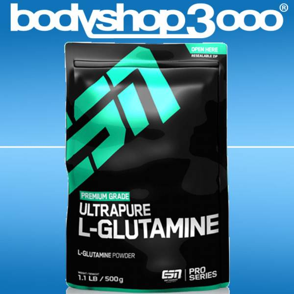 ESN - Ultrapure L-Glutamine Powder, 500g