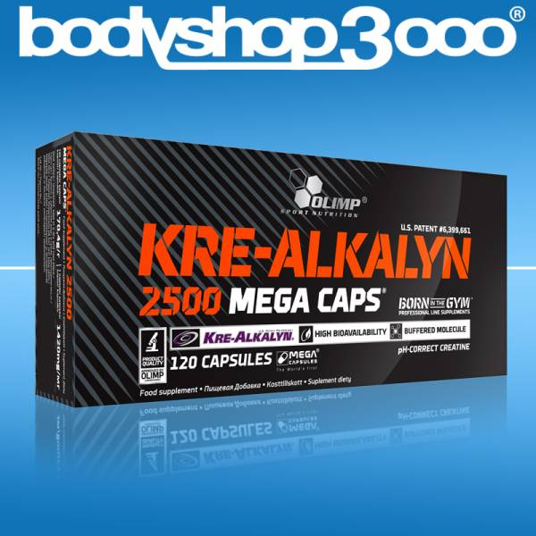 Olimp Kre-Alkalyn 120 MegaCaps 2500