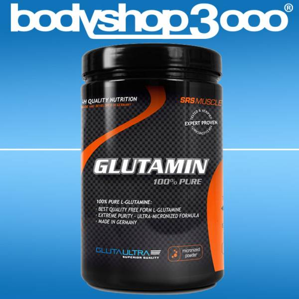 SRS MUSCLE Glutamin 500g