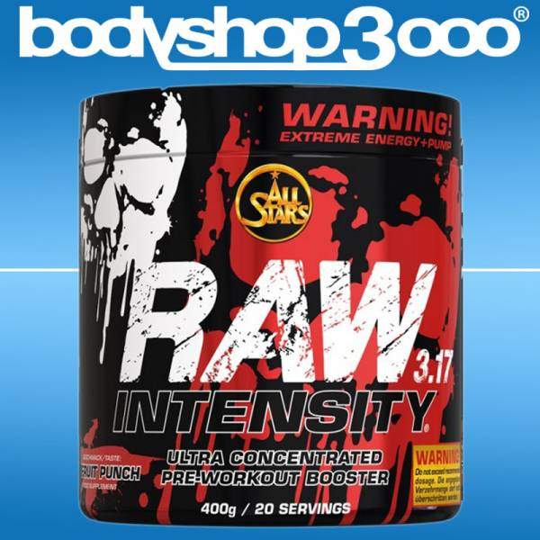 AllStars Raw Intensity 3.17 Pre-Workout Energy 400g