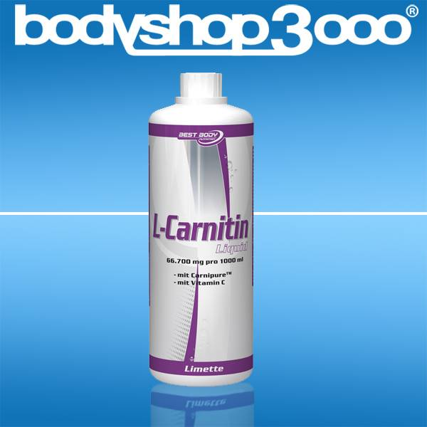 Best Body Nutrition L-Carnitin Liquid 1000ml Fat-Burner
