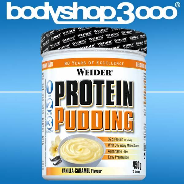 Weider - Protein Pudding/ Vanille Caramel 450g