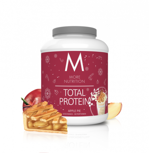 More Nutrition Total Protein Whey und Casein Eiweiß Mix + Lactase 600 g Dose