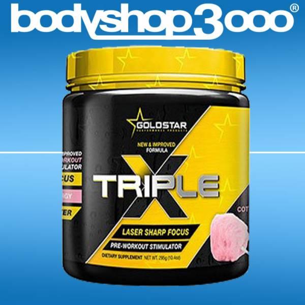 Goldstar Nutrition Triple X 295g