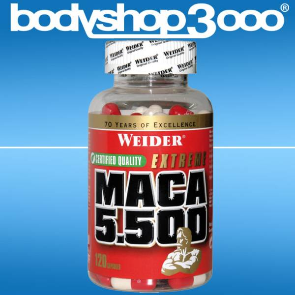 Weider - Maca 5500 153g