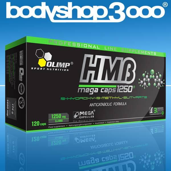Olimp HMB 120 MegaCaps zur Förderung von Muskelkraft