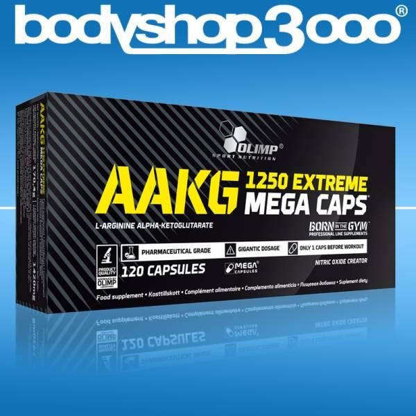 Olimp AAKG EXTREME 120 Mega Caps Arginin NO Booster