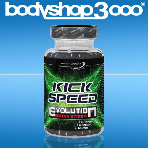 Best Body Nutrition Kick Speed Evolution 80 Caps Guarana