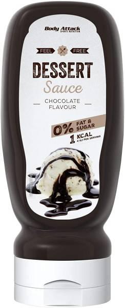 Body Attack Chocolate Flavour, Dessert Sauce 320ml