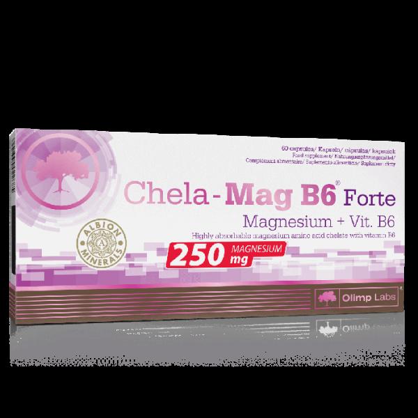 Olimp Magnesium Chela-Mag B6 Forte Mega Caps - 60 Kapseln