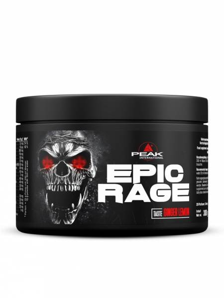 Peak Epic Rage Pre-Workout 300g Stim- & Fokus