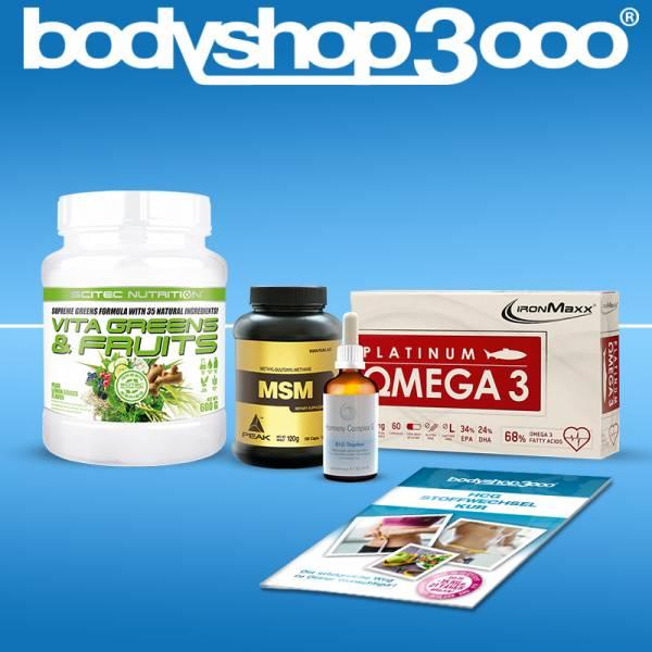 Stoffwechselkur HCG Diät Basispaket mit Hormony Complex G® B12-Tropfen