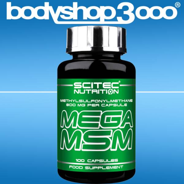 Scitec Nutrition MSM Kapseln