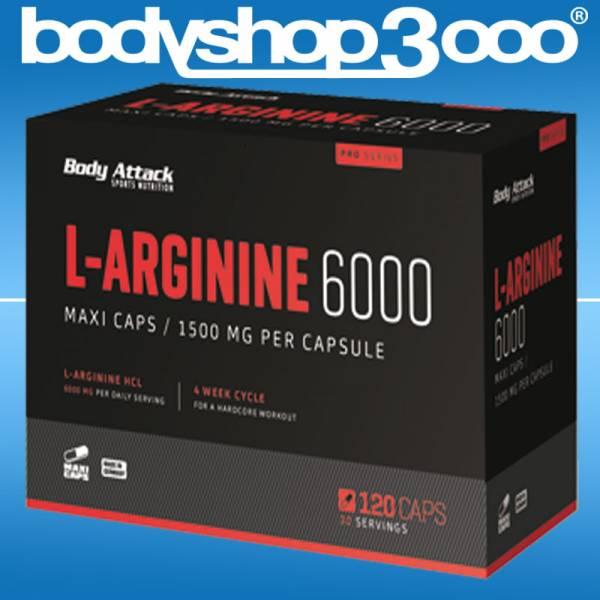 Body Attack - L-Arginine 6000 201g