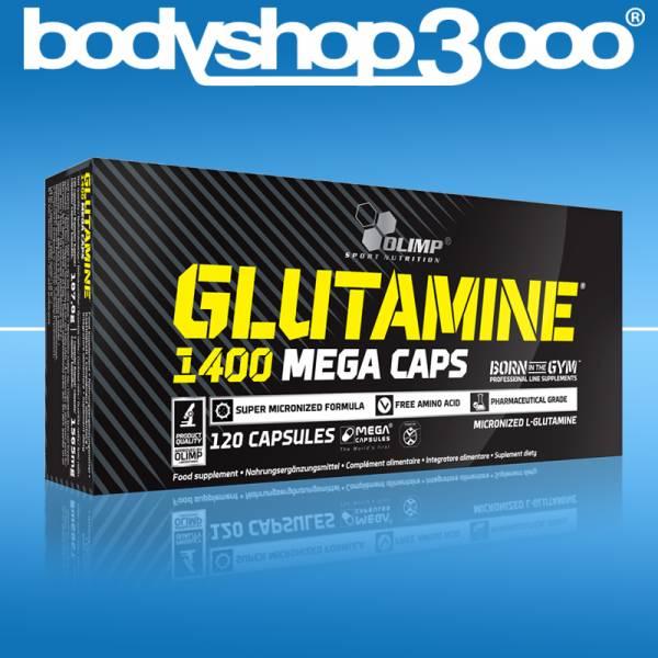 Olimp L-Glutamin Aminosäure 120 Mega Caps Antikatabol
