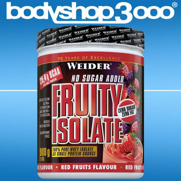 Weider - WEIDER Fruity Isolate 908g