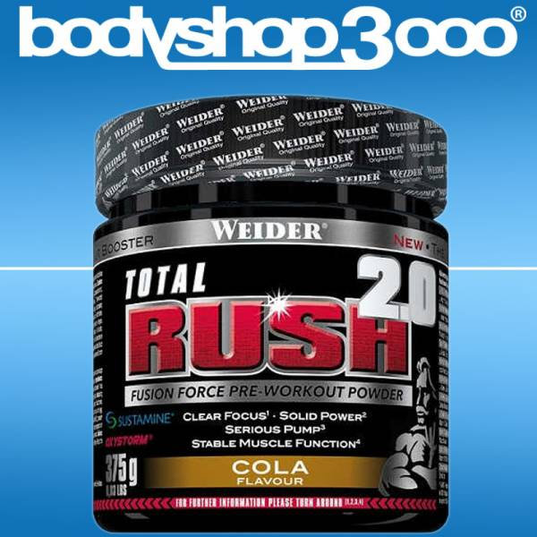 WEIDER Total Rush 2.0 Pre-Workout Booster 375g
