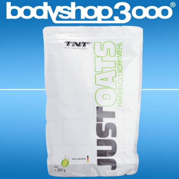 TNT Nutrition - Just Oats (Hafervollkornmehl) 2000g