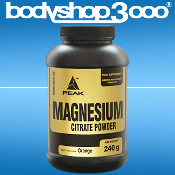 Peak - Magnesium Citrat 240g