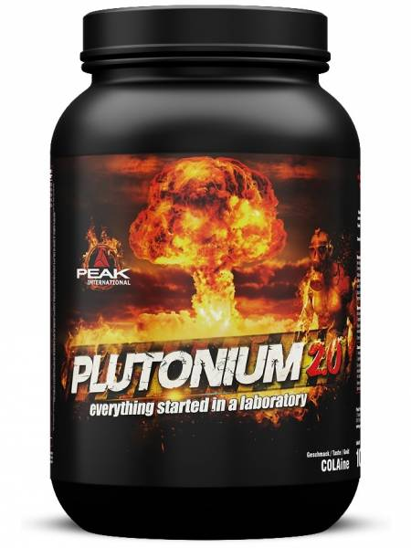 Peak Performance Plutonium 2.0 Megabooster Pre-Workout für Muskelaufbau