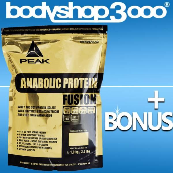 Peak Anabolic Protein Selection Eiweiß 1kg Beutel + Bonus