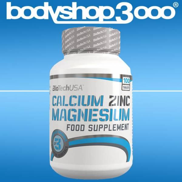 Biotech USA - Calcium Zinc Magnesium 180g