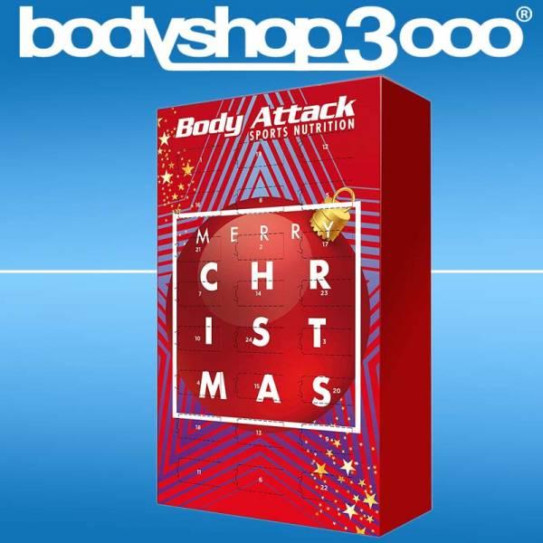 Body Attack Adventskalender 2018 24 Protein Riegel