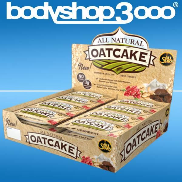 All Stars All Natural Oatcake, 24 Riegel á 80 g
