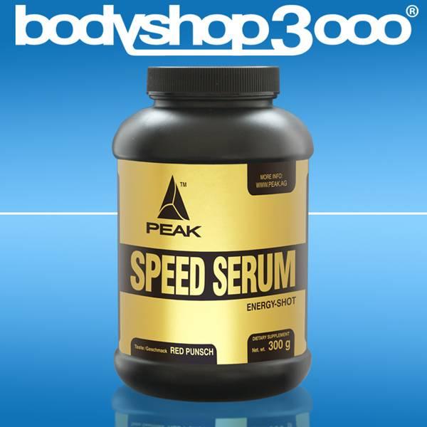 Peak Speed Serum 300g Dose Energizer mit BCAA und Taurin