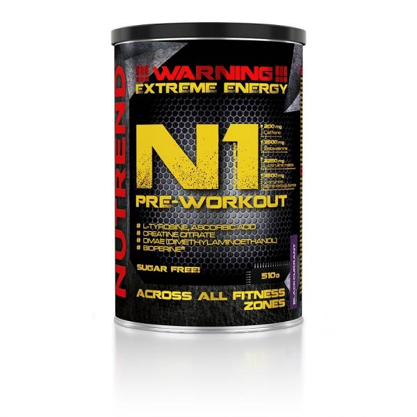 Nutrend N1 PRE-WORKOUT 510g Dose Booster