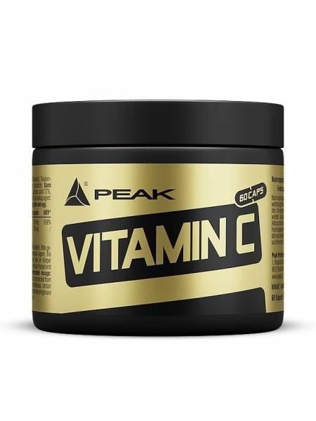 Peak - Vitamin C mit Traubenkernextrakt (OPC) 60 Kapseln