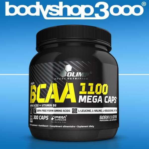 Olimp BCAA MEGA CAPS 300 Caps á 1100 mg Antikatabol