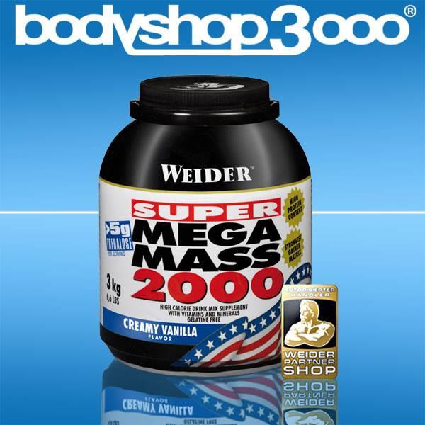 Weider 3kg Super Mega Mass 2000