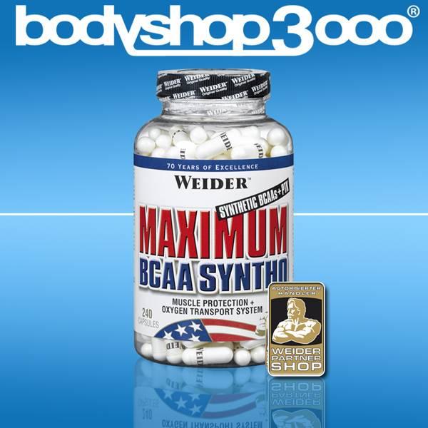 Weider 240 Kapseln Maximum BCAA Syntho
