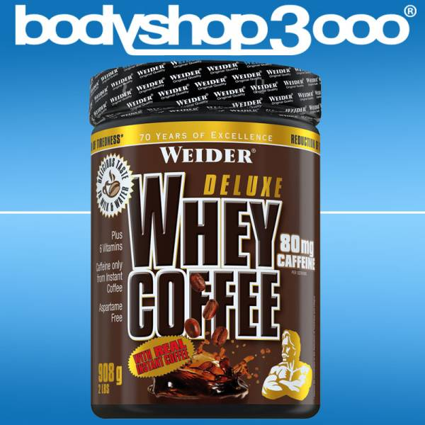 Weider - WEIDER Whey Coffee 908g