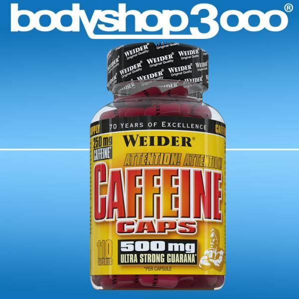 Weider - Caffeine Caps 94g