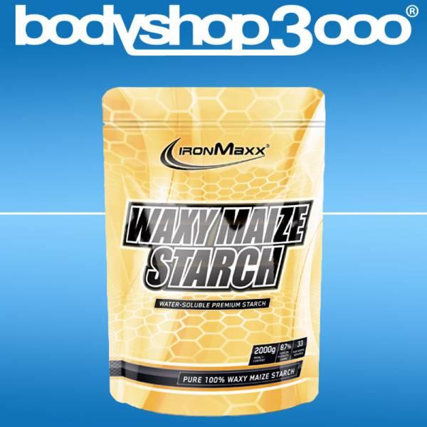 Ironmaxx Waxy Maize Starch 2000g Beutel Wachsmaisstärke