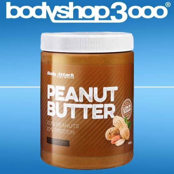 Body Attack Peanut Butter, 1000gr