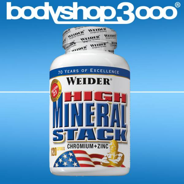 Weider 120 Kapseln High Mineral Stack